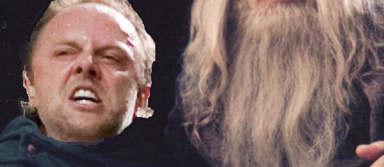 Lars Ulrich jest synem Gandalfa