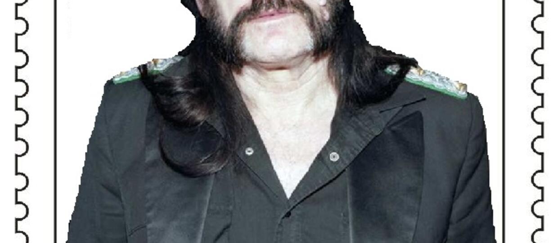 Lemmy pojawi się na znaczkach pocztowych