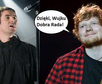 Liam Gallagher doradza Edowi Sheeranowi, jak ma się masturbować
