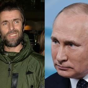 Liam Gallagher porównał żonę swojego brata do Władimira Putina