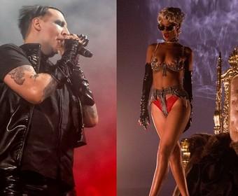 Marilyn Manson chwali Rihannę: Ma hardcore'owe teledyski