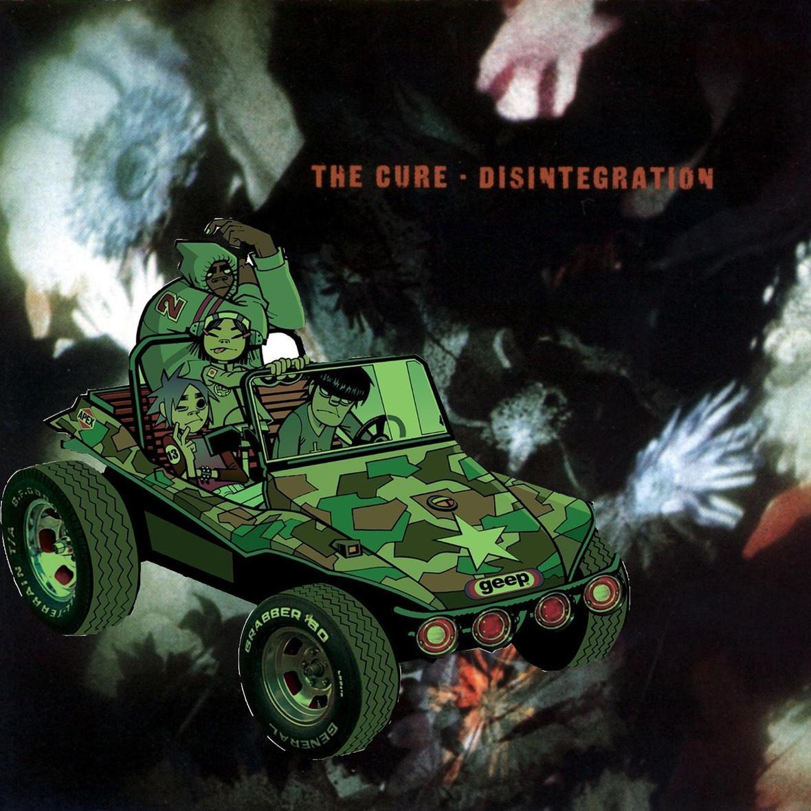 Mashup The Cure i Gorillaz