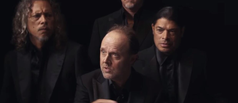Metallica żartuje we włoskich garniturach