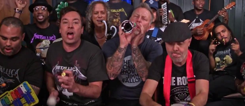 """Metallica zdziecinniała grając """"Enter Sandman"""""""