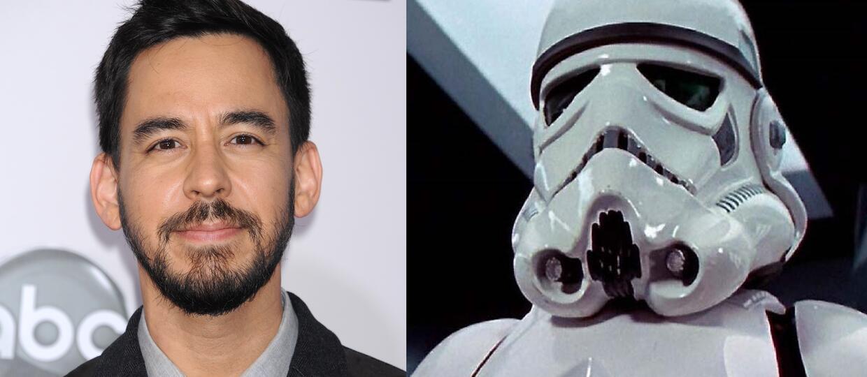 """Mike Shinoda stworzył szturmowca z """"Gwiezdnych wojen"""""""