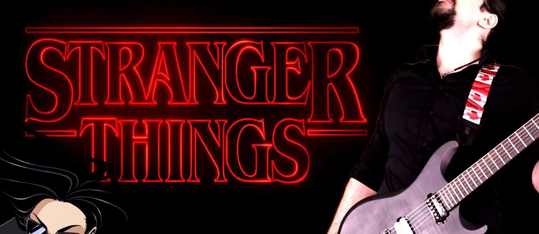 """Motyw przewodni z serialu """"Stranger Things"""" w metalowej wersji"""