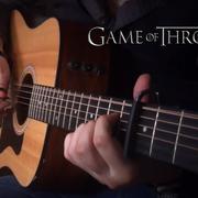 """Motyw z """"Gry o tron"""" zagrany na 12-strunowej gitarze"""