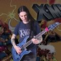 """Motyw z kreskówki """"X-Men"""" w metalowej wersji"""