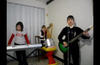 Mroczne dzieciaki zagrały utwór Rammsteina
