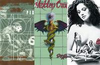 okładki rockowych albumów