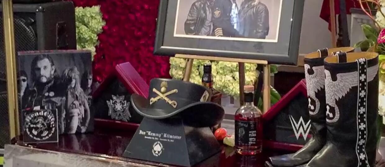 Napij się whiskey Motorhead przy urnie Lemmy'ego