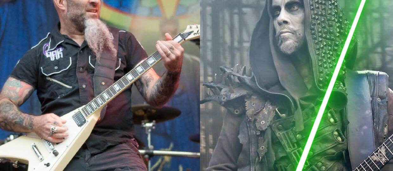 """Nergal zaatakował Scotta Iana z Anthraxu mieczem świetlnym z """"Gwiezdnych wojen"""""""