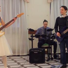 Panna młoda zagrała na weselu utwór Metalliki