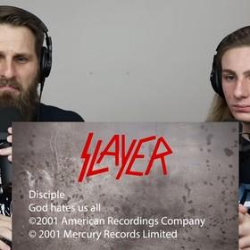 Pastor przeanalizował tekst Slayera