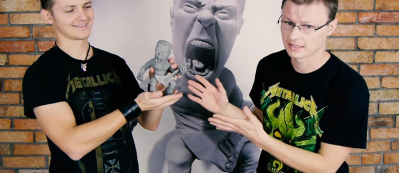 Pomóż polskim fanom stworzyć figurę Jamesa Hetfielda naturalnych rozmiarów