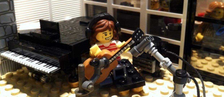 Pomóż stworzyć studio nagraniowe z klocków LEGO