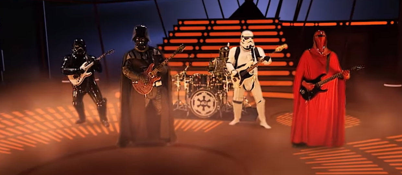 """Posłuchaj płyty z metalowymi coverami motywów ze """"Star Wars"""""""