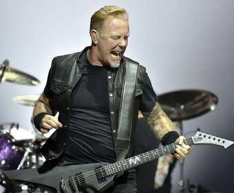 Posłuchaj solówek Hetfielda z koncertów Metalliki