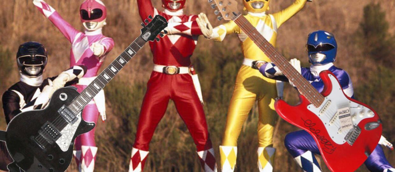 """""""Power Rangers"""" w metalowej wersji"""
