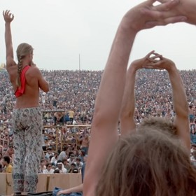 "Foto: kadr z wideo ""WOODSTOCK: THREE DAYS THAT DEFINED A GENERATION (2019)"""