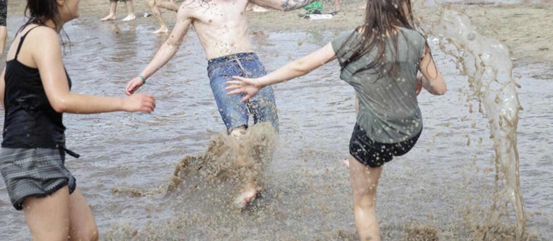 Uczestnicy Woodstocku
