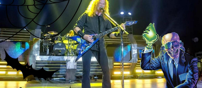 Przebierz się z Megadeth na Halloween