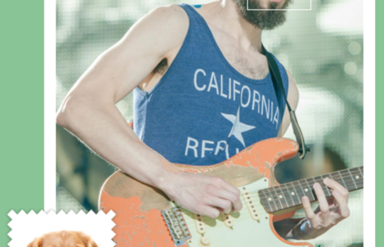 Brad Delson jako golden retriever