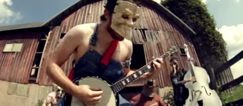 """""""Psychosocial"""" Slipknota zagrany na banjo (i co o tym myśli Corey Taylor)"""