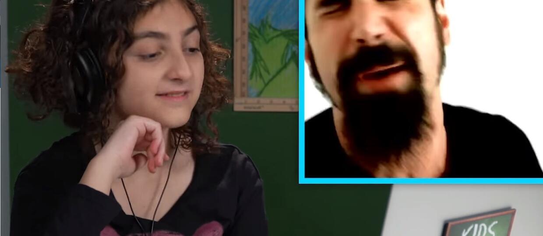 Reakcje dzieciaków na System Of A Down: Ale oni wrzeszczą!