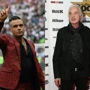 Robbie Williams chciał zdenerwować Jimmy'ego Page'a... i przebrał się za Roberta Planta