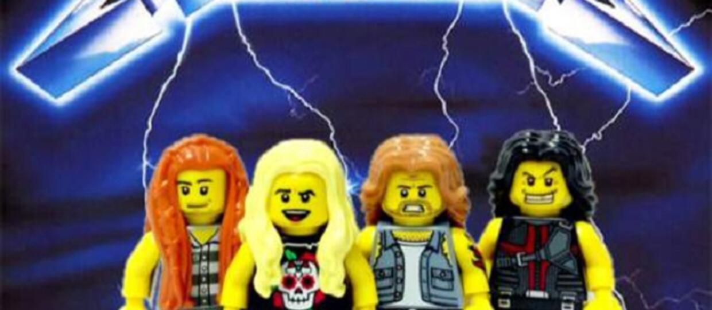Rockowi i metalowi artyści jako klocki LEGO