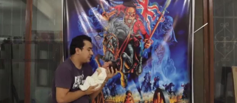 Rodzice wyjaśnili, dlaczego nazwali swoje dziecko Iron Maiden