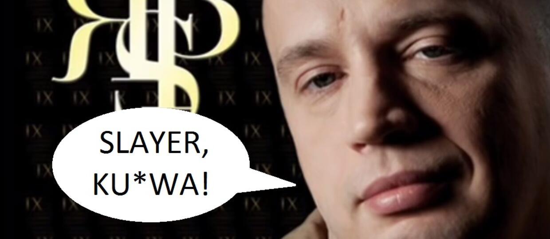 Rychu Peja szanuje Slayera i Lemmy'ego
