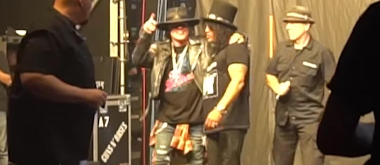 Slash i Axl Rose znowu razem w materiale z trasy