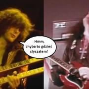 Słynne rockowe i metalowe riffy, które brzmią podobnie