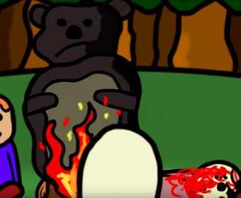 """""""Stary niedźwiedź mocno śpi"""" na metalowo zniszczy Wasze dzieciństwo"""