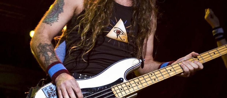 Steve Harris wywinął orła na koncercie Iron Maiden