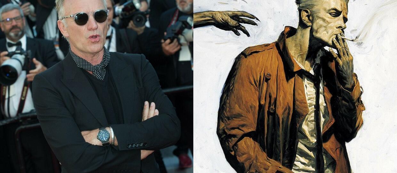 """Sting przebrany za Constantine'a świętuje 30. urodziny komiksów """"Hellblazer"""""""