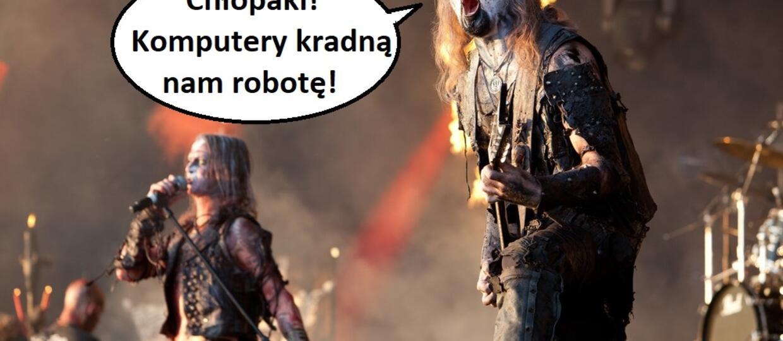Sztuczna inteligencja stworzyła blackmetalowy album