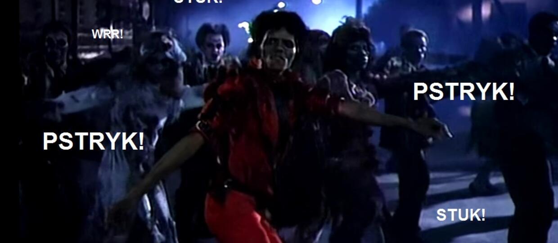 "Teledysk do ""Thrillera"" Michaela Jacksona bez muzyki"