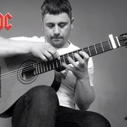"""Thunderstruck"" AC/DC zagrany na gitarze klasycznej"