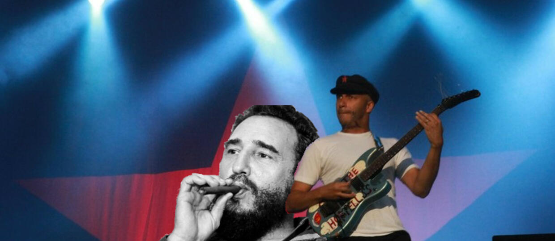 Tom Morello: Fidel Castro był wielkim bohaterem Trzeciego Świata