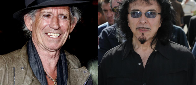 Tony Iommi dziwi się, że Keith Richards nadal żyje