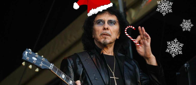 Tony Iommi w świątecznym klipie