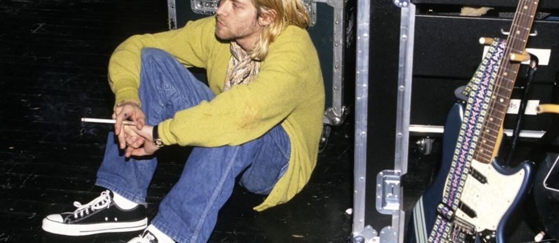 Trampki i gitary Kurta Cobaina na wystawie zdjęć