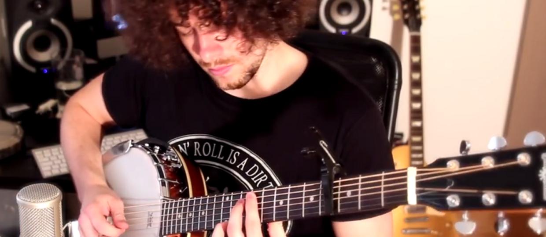 Utwory Led Zeppelin zagrane na banjo