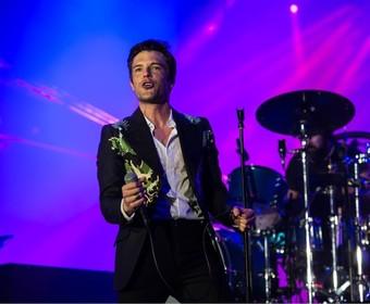 Wokalista The Killers zniszczył backstage po nieudanym koncercie