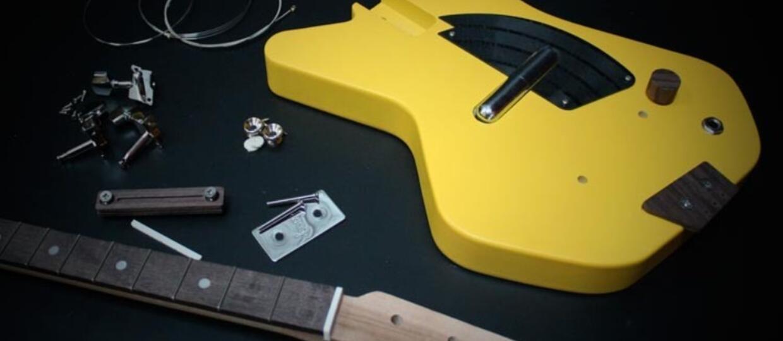 Zbuduj swoją pierwszą trzystrunową gitarę