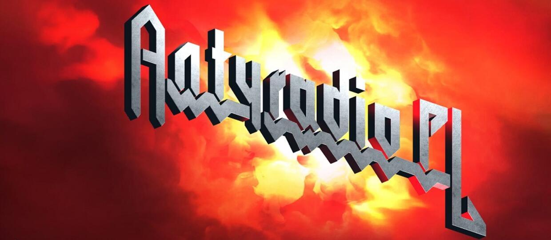 Logo Antyradio.pl w stylu logo Judas Priest