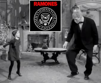 Zobacz, jak rodzina Addamsów tańczy do Ramones